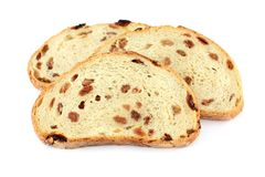 Slices of bread Stock Image