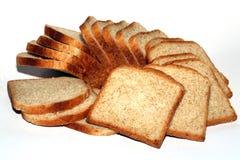 Slices of bread. Plenty of slices of toast bread Stock Photo