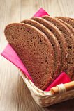 Slices bread in a basket Royalty Free Stock Photography