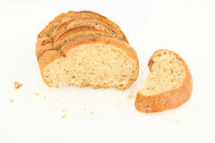 Slices Of Bread Isolated Royalty Free Stock Photos