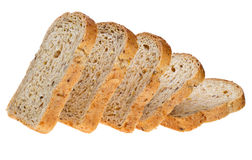 Slices bread Stock Images