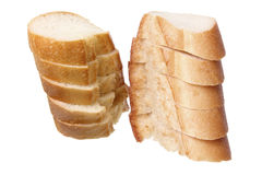 Slices of Bread Roll Royalty Free Stock Images