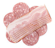 Slices of breast meat Royalty Free Stock Photos
