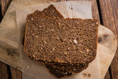 Slices of  Brown Bread Royalty Free Stock Image