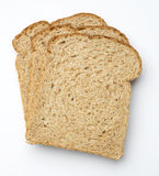 Slices of brown bread  Royalty Free Stock Photos