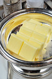 Slices of Butter Stock Photo