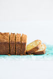 Slices of cake Stock Images