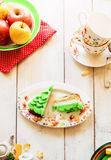 Slices of cake Royalty Free Stock Photography