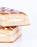 Slices of cake Royalty Free Stock Image