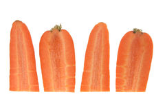 Slices of Carrot Royalty Free Stock Images