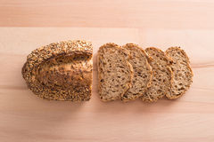 Slices of cereal bread Stock Photo
