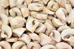 Slices champignon Stock Photo
