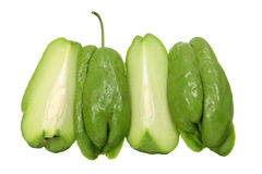 Slices of Chayote Stock Images
