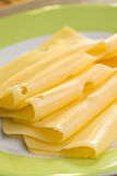 Slices cheese Royalty Free Stock Photography