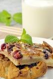 Slices of cherry pie Royalty Free Stock Photos