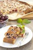 Slices of cherry pie Royalty Free Stock Image