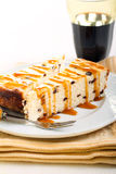 Slices of chocolate chip cheesecake Royalty Free Stock Photography