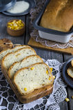 Slices of corn bread Stock Images