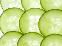 Slices of cucumber Royalty Free Stock Photo
