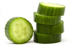 Slices cucumber Royalty Free Stock Photography