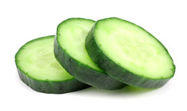 Slices of cucumber Royalty Free Stock Image