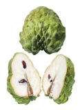 Slices of Custard Apple Stock Photos