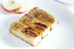 Slices of delicious Homemade apple tart Stock Images