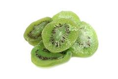 Slices of dried kiwi Stock Photos