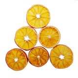 Slices of dried oranges Royalty Free Stock Image