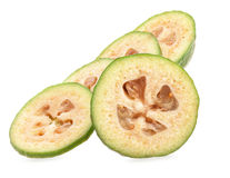 Slices of Feijoa Royalty Free Stock Image