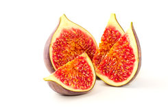 Slices of fig Royalty Free Stock Photography