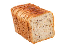 The slices fitness breads isolated Royalty Free Stock Image