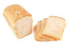 Slices of fresh bread Stock Photo