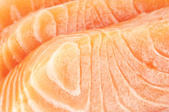 Slices of fresh fish Stock Photography