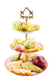 Slices fresh fruits Royalty Free Stock Photo