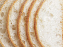 Slices of fresh italian ciabatta bread Stock Image