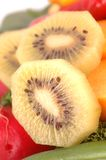 Slices of fresh kiwi fruit Stock Image
