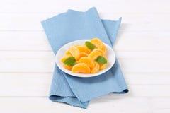 Slices of fresh orange Stock Image
