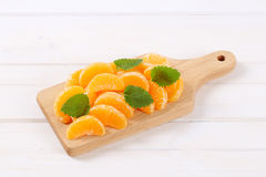 Slices of fresh orange Stock Photo