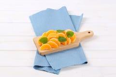 Slices of fresh orange Royalty Free Stock Photos