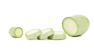 Slices of fresh zucchini Royalty Free Stock Photography