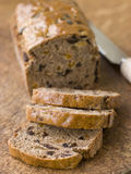 Slices From A Loaf Of Bara Brith Royalty Free Stock Images