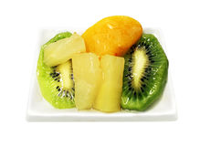 Slices of fruit Royalty Free Stock Photos