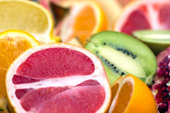 Slices of fruit Stock Photo