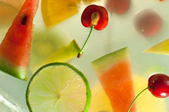 Slices fruit Stock Photos