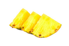 Slices of fruit pineapple Royalty Free Stock Photos
