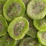 Slices of glazed kiwi fruit Stock Photography