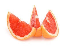 Slices of grapefruit Royalty Free Stock Image