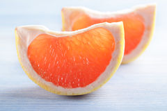 Slices of grapefruit Royalty Free Stock Photography