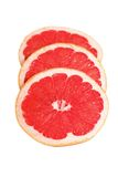 Slices of grapefruit. Royalty Free Stock Images